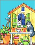 The Garden Shed Cats