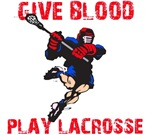 Lacrosse Give Blood