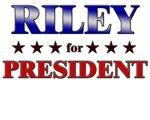 RILEY for president