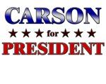CARSON for president