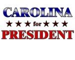 CAROLINA for president