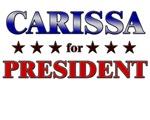 CARISSA for president