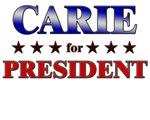 CARIE for president