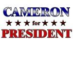 CAMERON for president