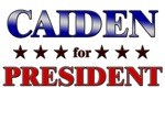 CAIDEN for president