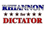 RHIANNON for dictator