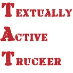 Textually Active Trucker