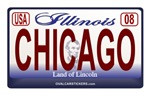 Illinois License Plate - CHICAGO