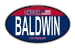 Chuck Baldwin RW&B Oval