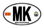 Macedonia (MK) Euro Oval