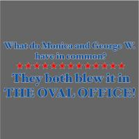 What Do Monica & George W. Have In Common?
