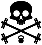 Skull and Cross Fit ness Equipment