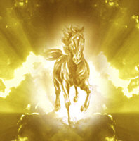 Horse, 'Golden Thunder' by Marc Brinkerhoff
