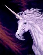 Sundana, Unicorn Painting by Marc Brinkerhoff