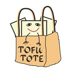 Tofu Tote - Bags and Gifts for Vegetarians and All