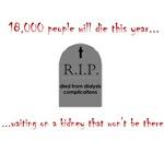 18,000 People Die