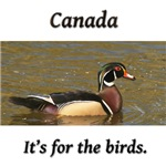 Canada: It's for birds!