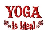 <b>YOGA IS IDEAL</b>