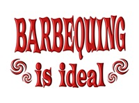 <b>BARBEQUING IS IDEAL</b>