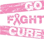 Breast Cancer Go Fight Cure Shirts