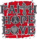 Brain Tumor Faith Hope Love Shirts