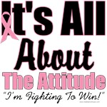 Breast Cancer Attitude T-Shirts & Gifts