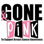 Gone Pink Breast Cancer T-Shirts & Gifts