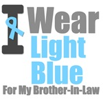 I Wear Light Blue For My Brother-in-Law T-Shirts