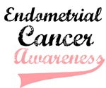 Endometrial Cancer Awareness Grunge T-Shirts