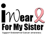 Endometrial Cancer (Sister) T-Shirts