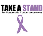 Take A Stand Pancreatic Cancer Awareness T-Shirts