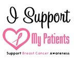 I Support (Patients) Breast Cancer T-Shirts