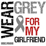 I Wear Grey (Girlfriend) Brain Cancer T-Shirts