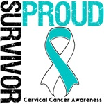 Proud Survivor Cervical Cancer Gifts