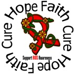 AIDS Hope Faith Cure Floral