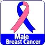 Male Breast Cancer Shirts