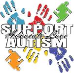 Support Autism Handprints Colorful Shirts & Gifts