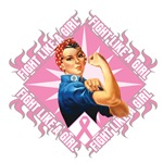 Breast Cancer Fight Like A Girl Rosie the Riveter
