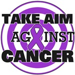Take Aim Against Pancreatic Cancer Shirts & Gifts