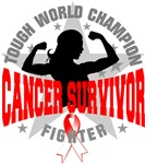  Oral Cancer Tough Survivor Shirts