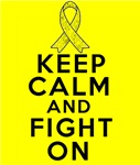 Sarcoma Keep Calm Fight On Shirts