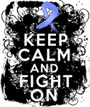 Stomach Cancer Keep Calm and Fight On Shirts
