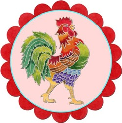 EVERYTHING Rainbow Rooster