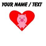 Cartoon Pig Heart