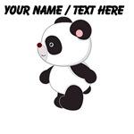 Custom Cute Panda
