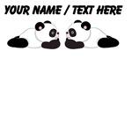 Custom Cute Pandas