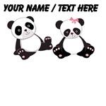Custom Panda Boy And Girl