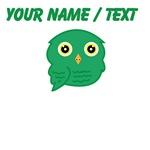 Custom Green Owl