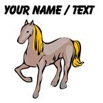 Custom Blond Hair Horse