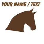 Custom Horse Head Silhouette